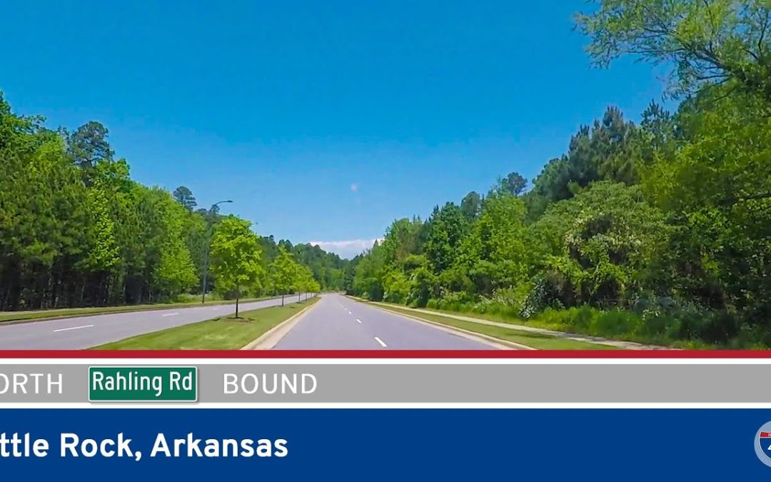Rahling Road Northbound in Little Rock