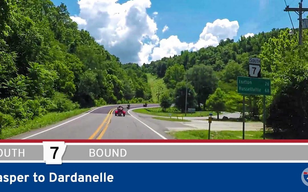 Arkansas Highway 7 – Jasper to Dardanelle