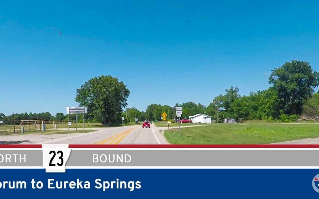 Arkansas Highway 23 – Forum to Eureka Springs