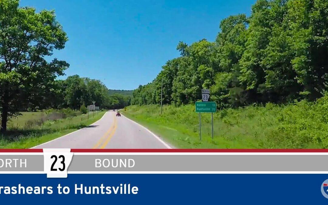Arkansas Highway 23 – Brashears to Huntsville