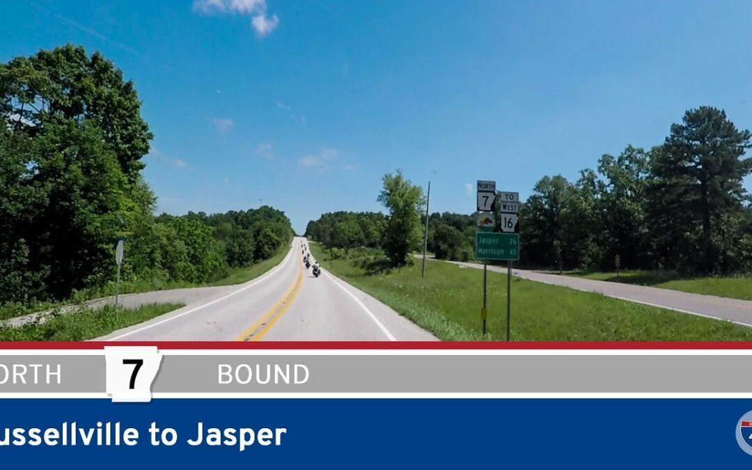 Arkansas Highway 7 – Russellville to Jasper