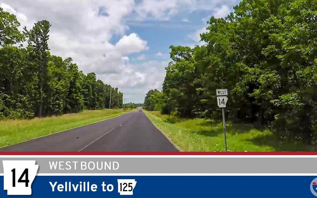 Arkansas Highway 14 – Yellville to AR-125