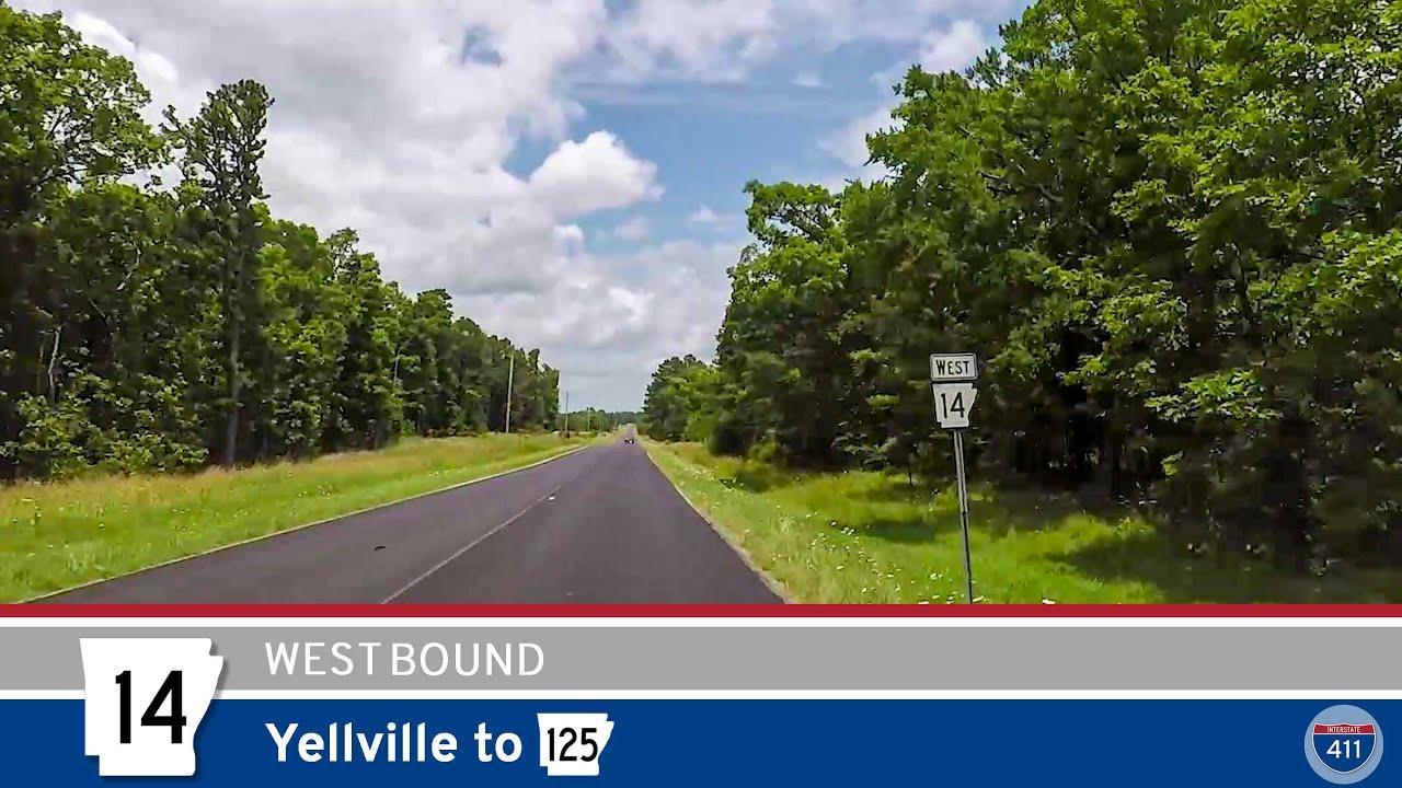 Arkansas Highway 14 - Yellville to AR-125