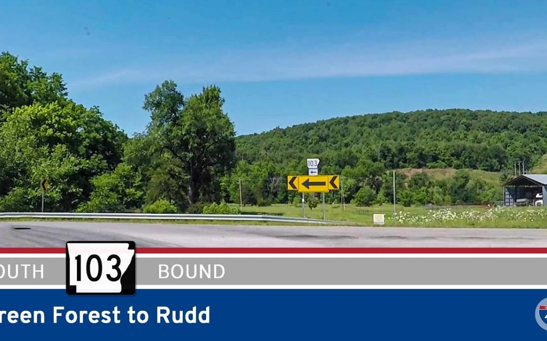 Arkansas Highway 103 – Green Forest to Rudd