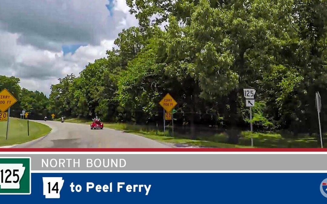 Arkansas Highway 125 – Highway 14 to Peel Ferry