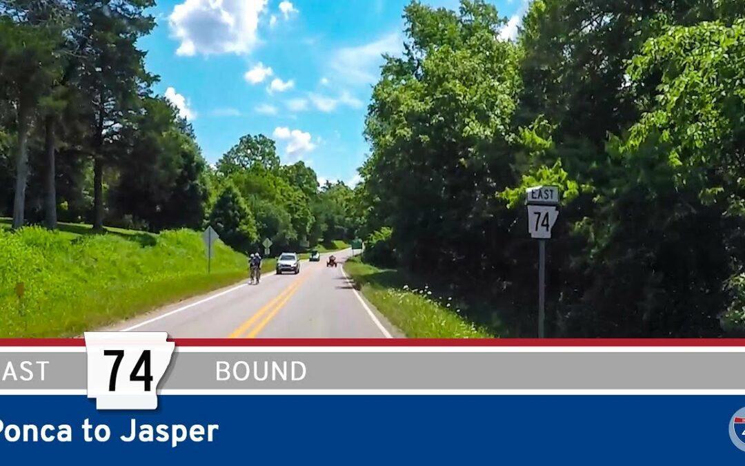 Arkansas Highway 74 – Ponca to Jasper