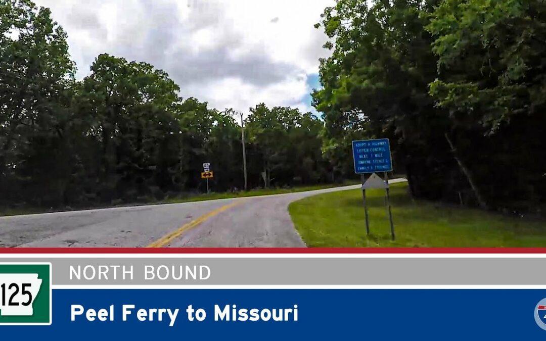 Arkansas Highway 125 – Peel Ferry to Missouri