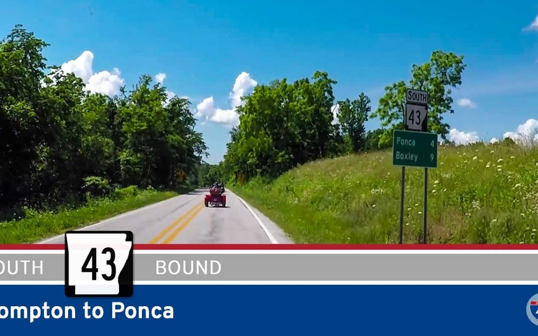 Arkansas Highway 43 – Compton to Ponca