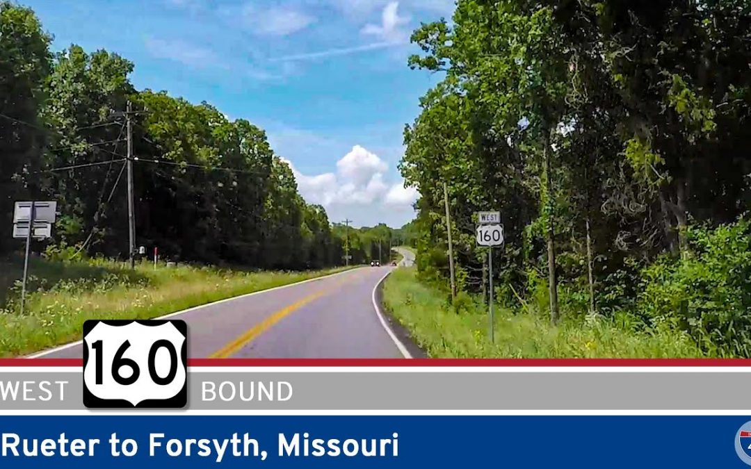 U.S. Highway 160 – Rueter to Forsyth – Missouri
