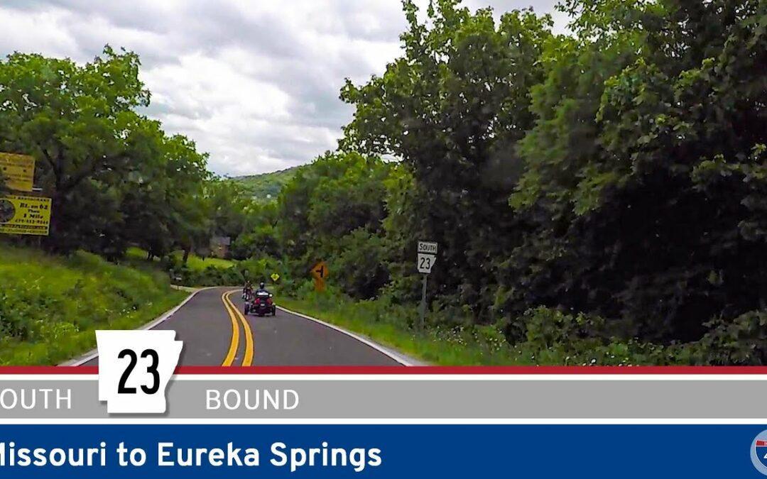 Arkansas Highway 23 – Missouri to Eureka Springs