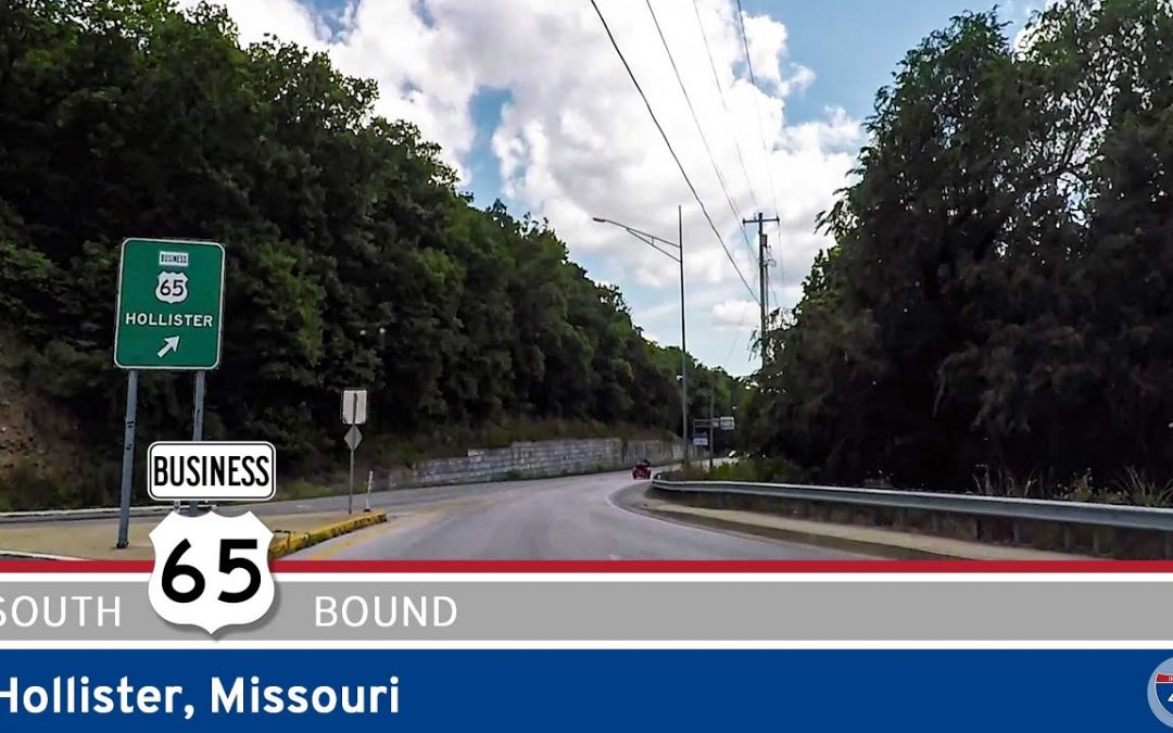 U.S. Highway 65 Business in Hollister – Missouri (Main Street)