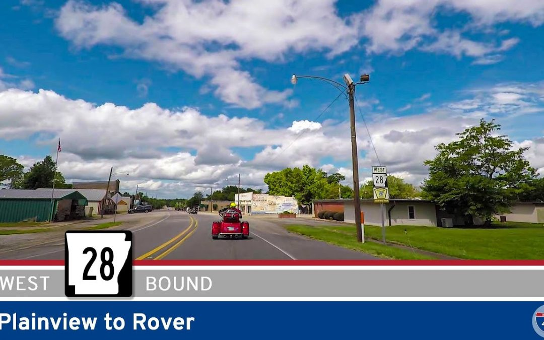 Arkansas Highway 28 – Plainview to Rover