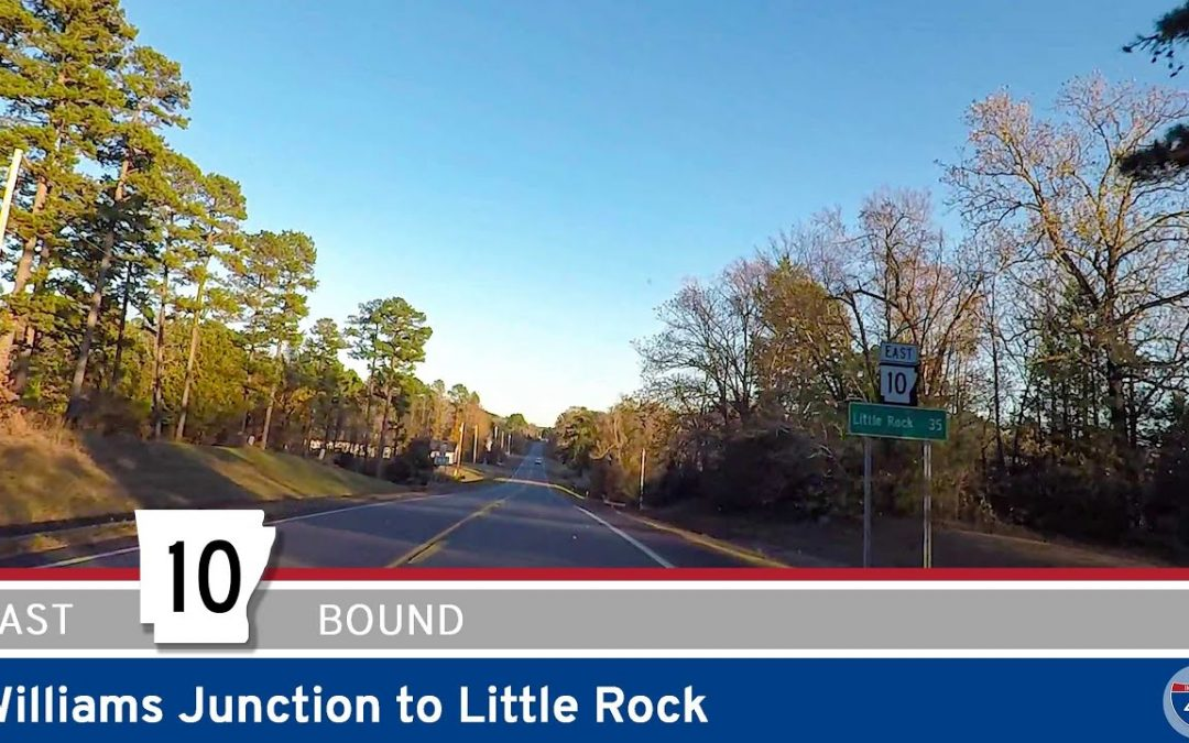 Arkansas Highway 10 – Williams Junction to Little Rock