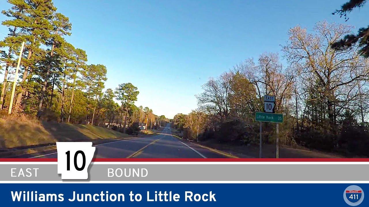 Arkansas Highway 10 - Williams Junction to Little Rock