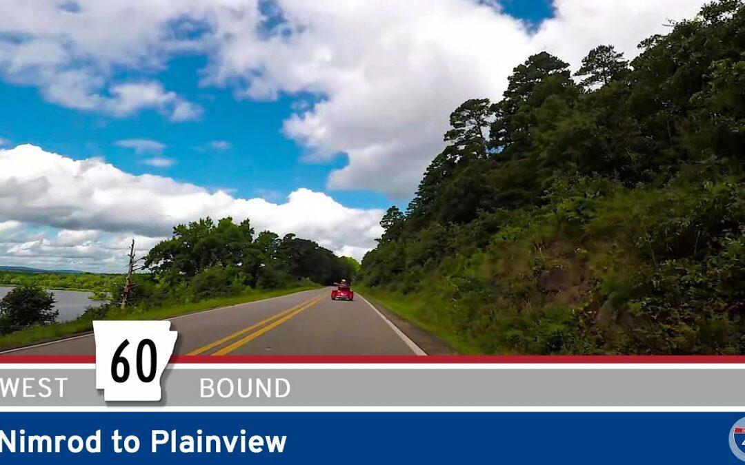 Arkansas Highway 60 – Nimrod to Plainview