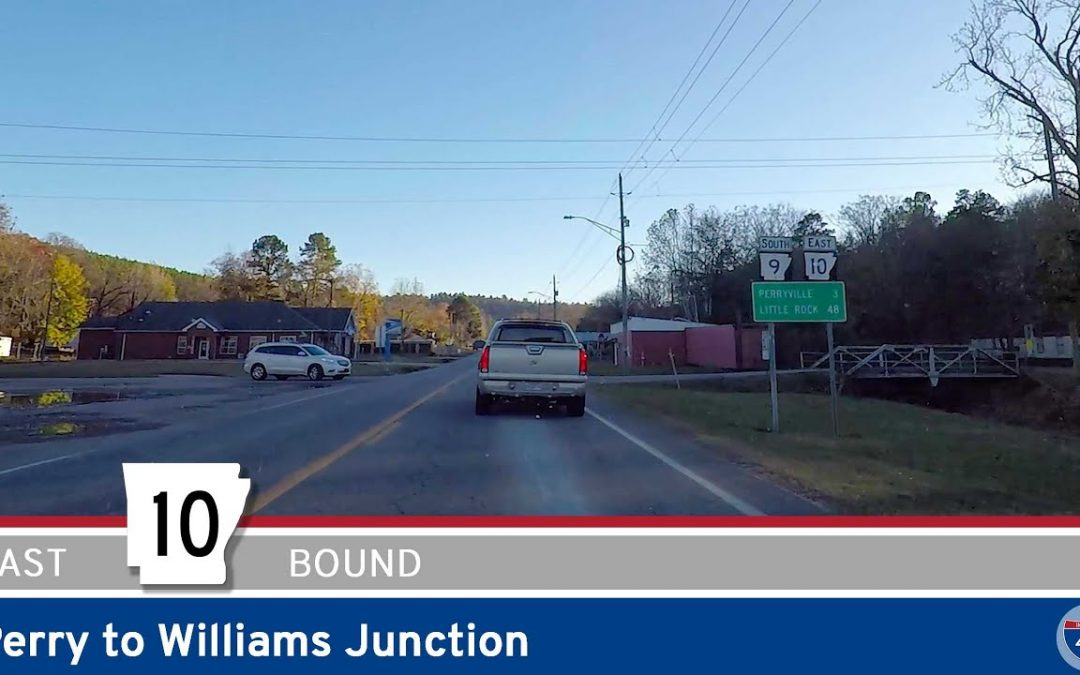 Arkansas Highway 10 – Perry to Williams Junction