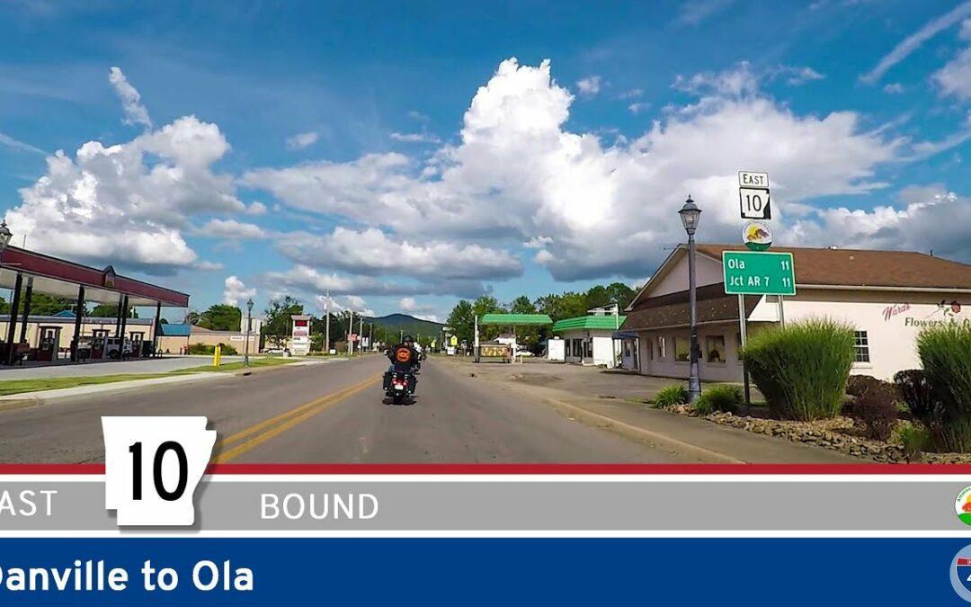 Arkansas Highway 10 – Danville to Ola