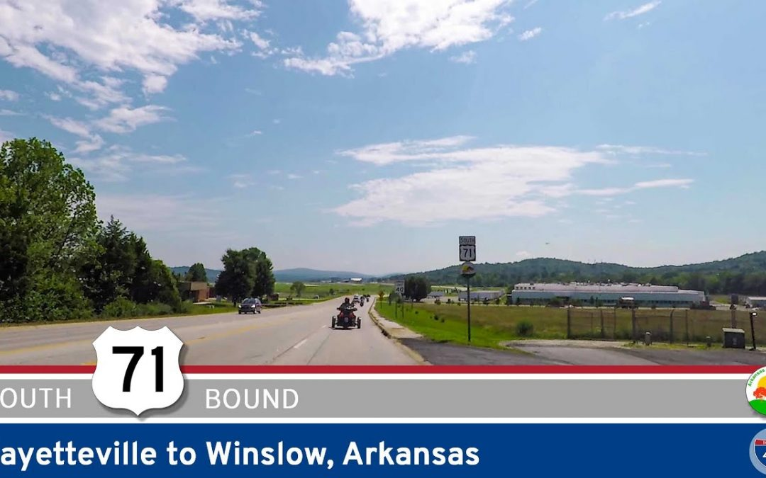 U.S. Highway 71 – Fayetteville to Winslow – Arkansas