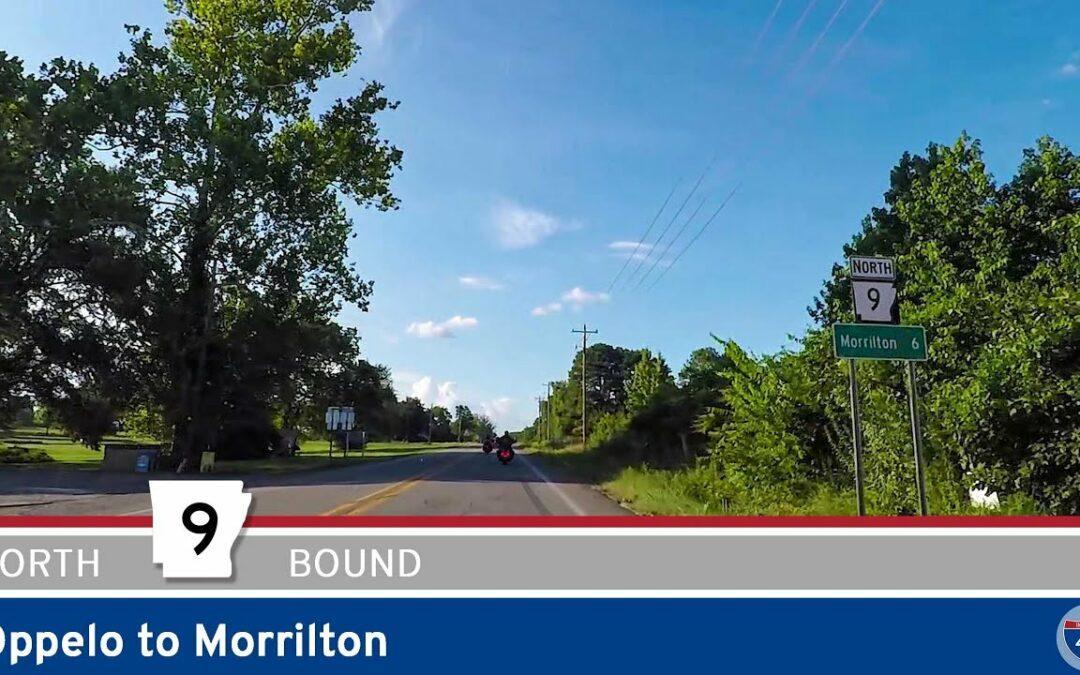 Arkansas Highway 9 – Oppelo to Morrilton