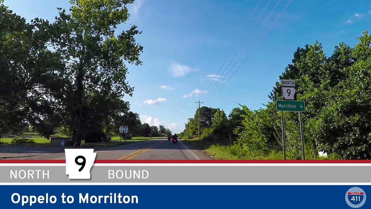 Arkansas Highway 9 - Oppelo to Morrilton