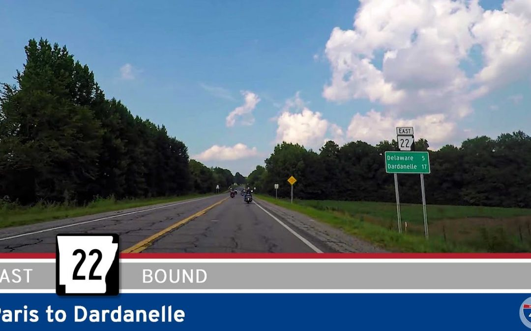 Arkansas Highway 22 – Paris to Dardanelle