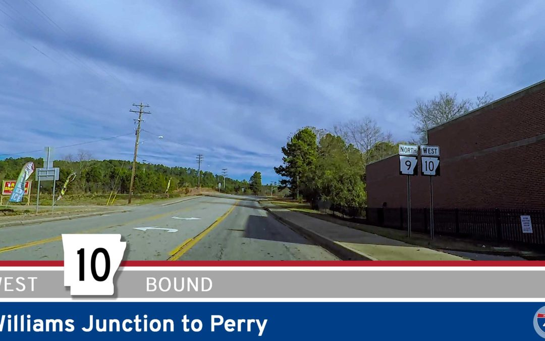 Arkansas Highway 10 – Williams Junction to Perry