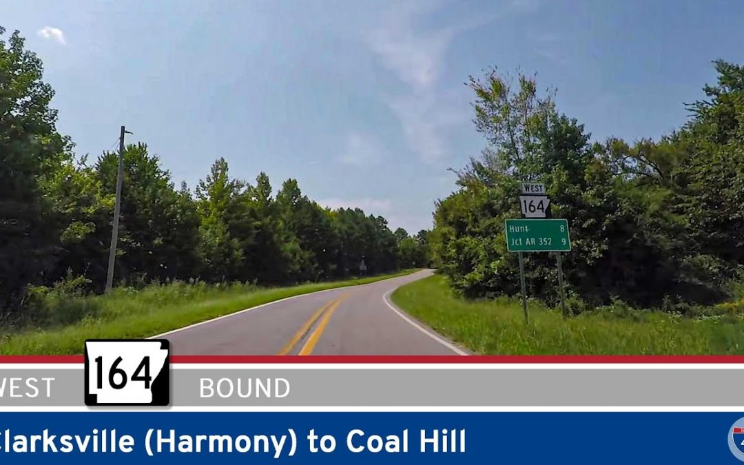 Arkansas Highway 164 – Clarksville to Coal Hill