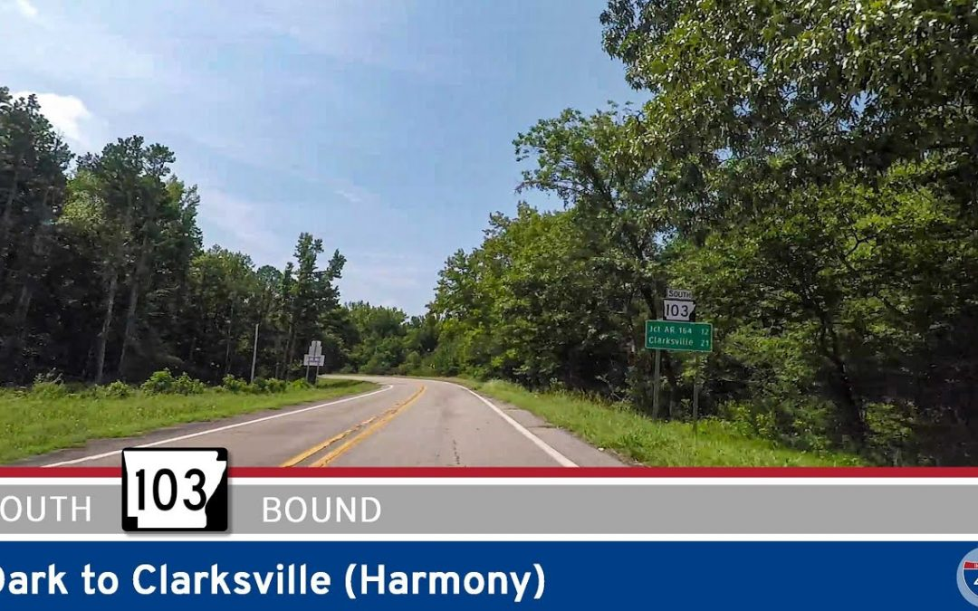 Arkansas Highway 103 – Oark to Clarksville (Harmony)