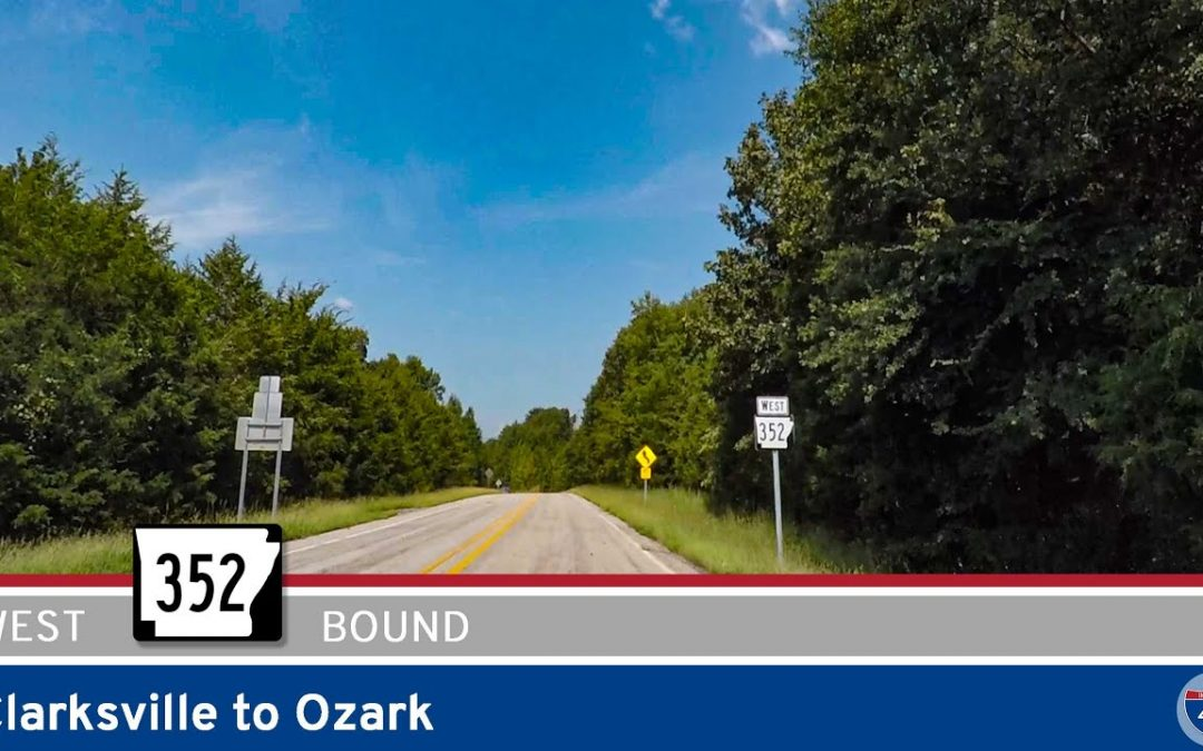 Arkansas Highway 352 – Clarksville to Ozark