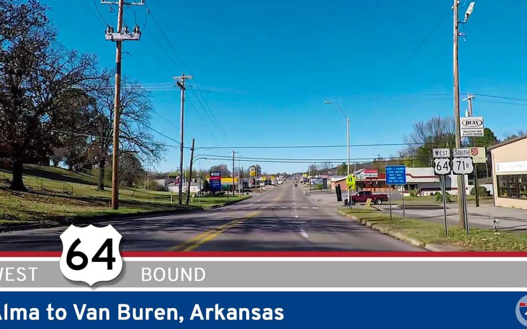 U.S. Highway 64 – Alma to Van Buren – Arkansas