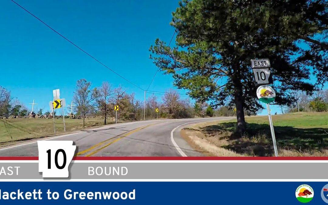 Arkansas Highway 10 – Hackett to Greenwood