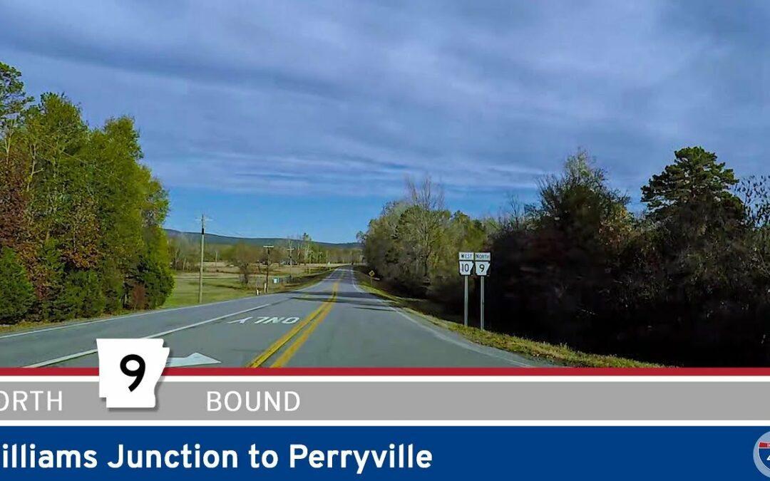 Arkansas Highway 9 – Williams Junction to Perryville
