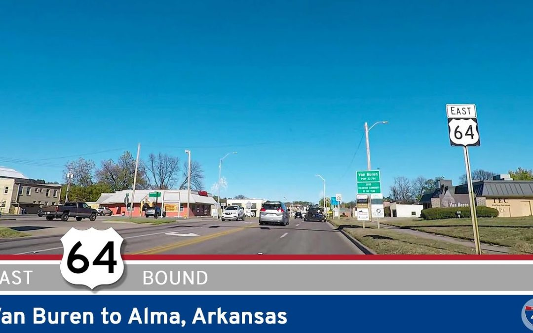 U.S. Highway 64: Van Buren to Alma – Arkansas