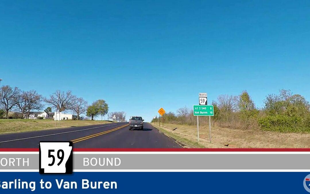 Arkansas Highway 59: Barling to Van Buren