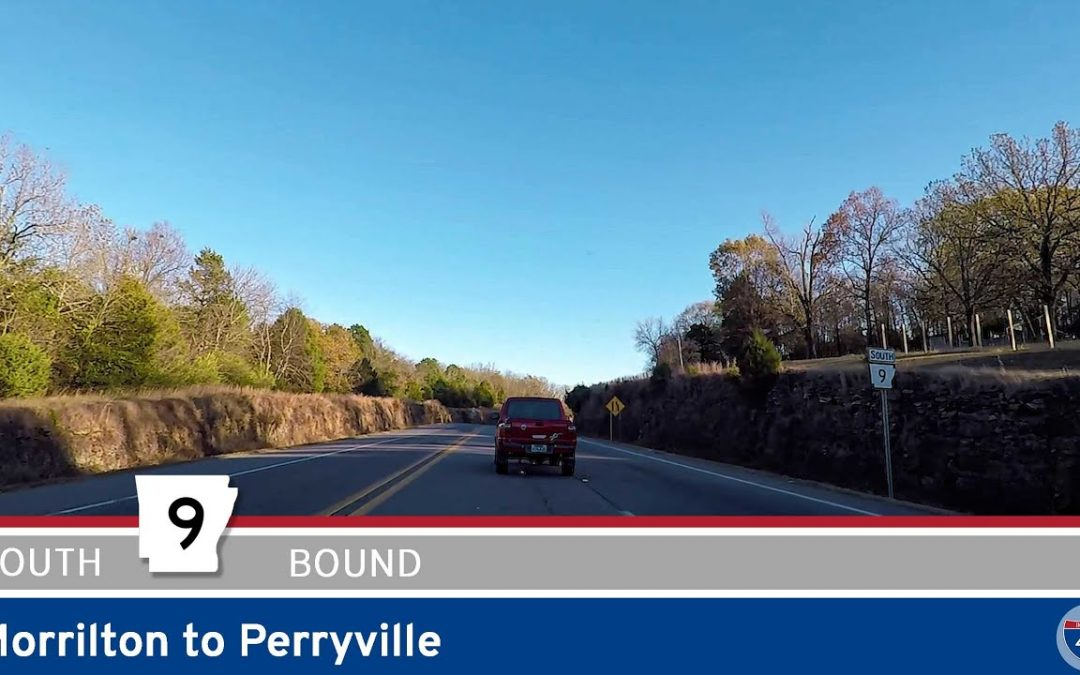 Arkansas Highway 9: Morrilton to Perryville