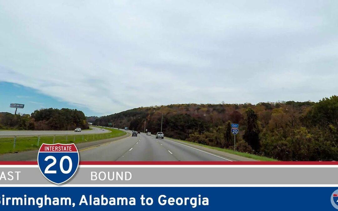Interstate 20: Birmingham to Georgia