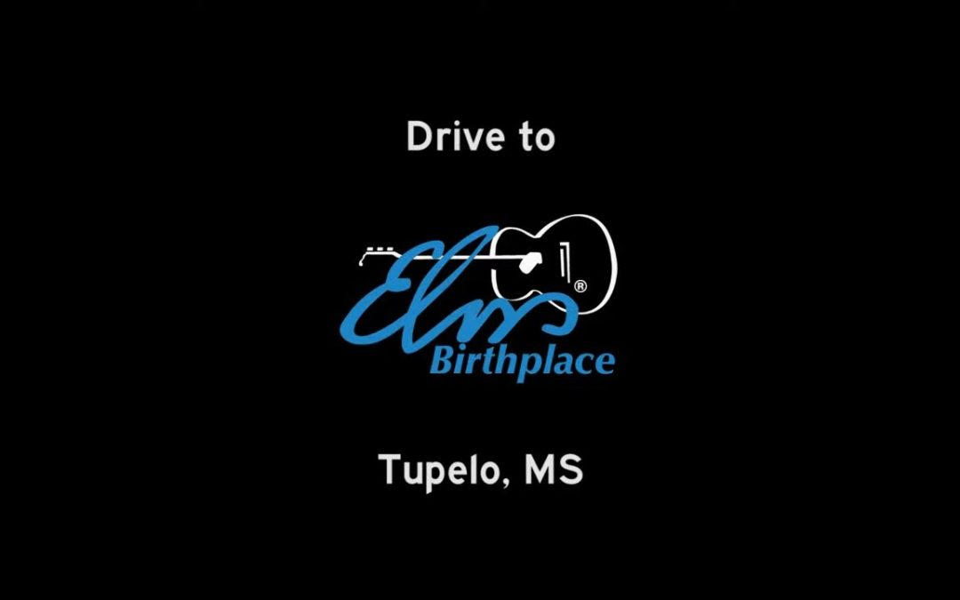 Drive to Elvis' Birthplace from Interstate 22 in Tupelo, Mississippi