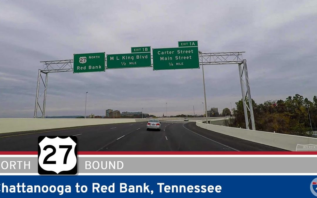 U.S. Highway 27: Chattanooga to Red Bank – Tennessee