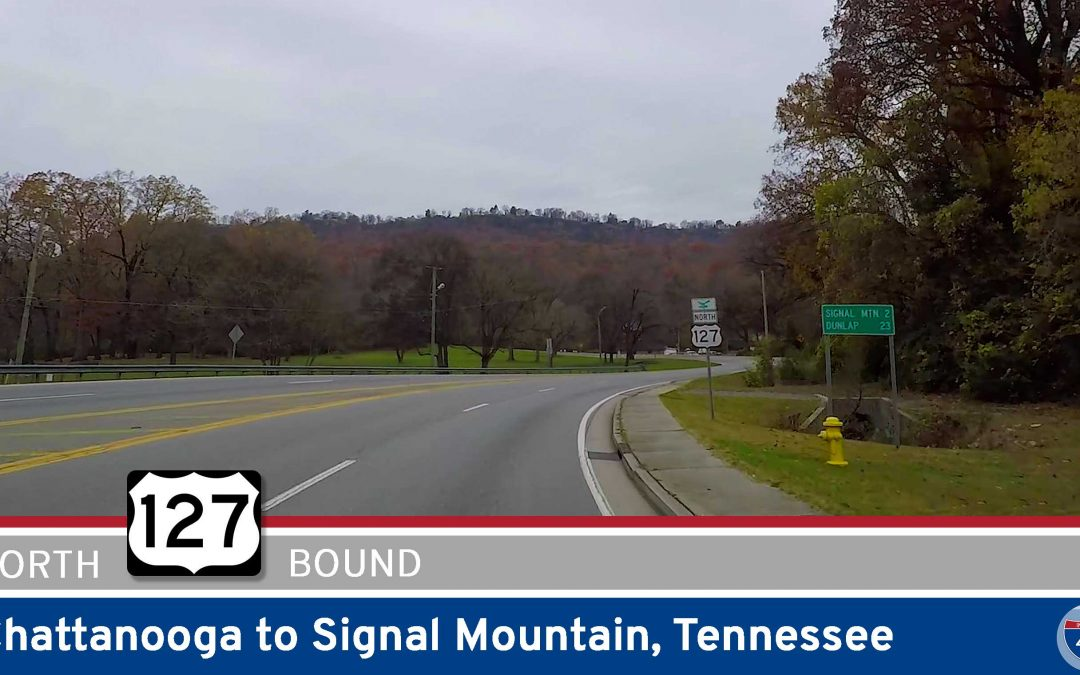 U.S. Highway 127 – Chattanooga to Signal Mountain – Tennessee
