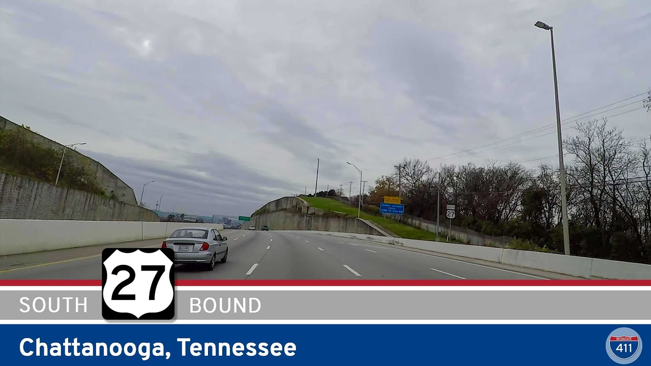 Drive America's Highways for 4 miles along U.S. Highway 27 southbound in Chattanooga