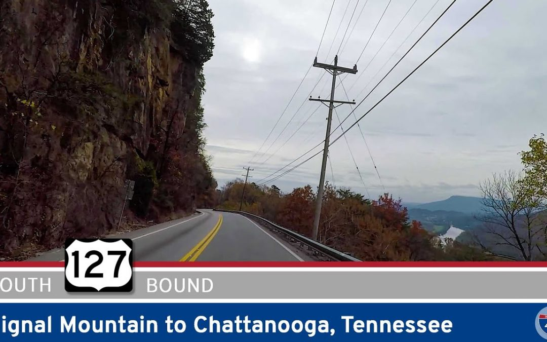 U.S. Highway 127 – Signal Mountain to Chattanooga – Tennessee