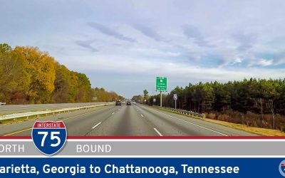 Interstate 75: Marietta to Chattanooga