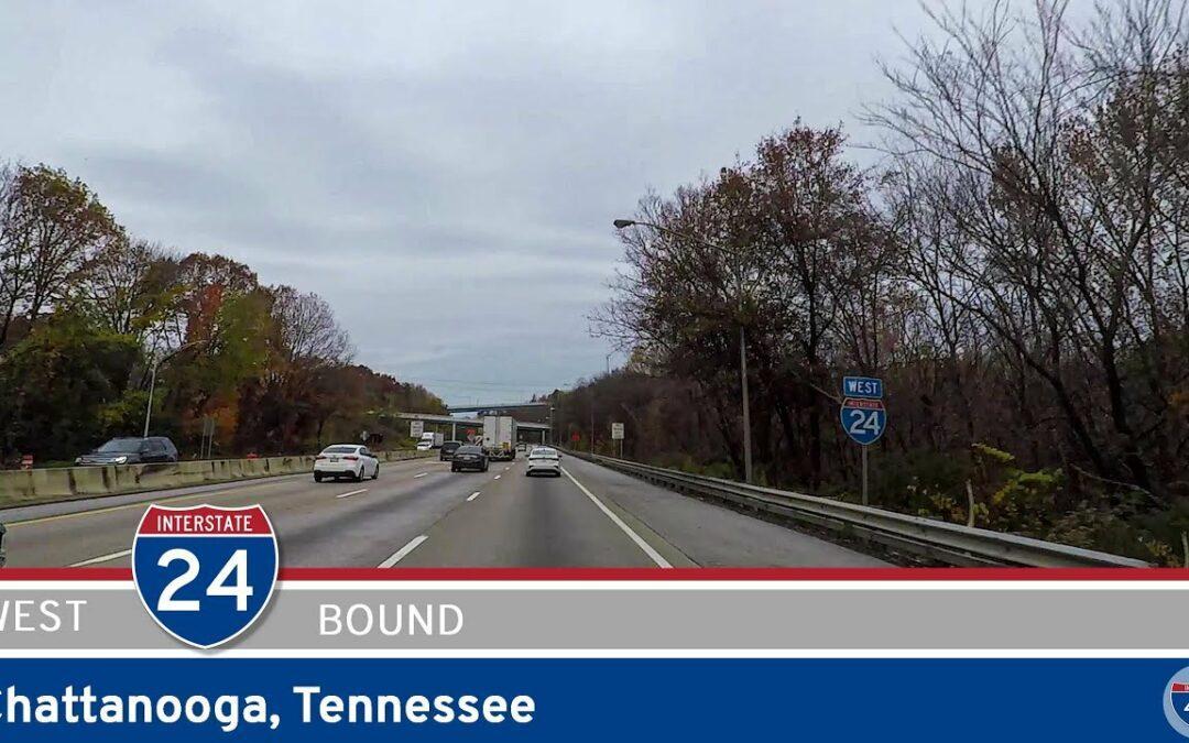 Interstate 24: Westbound in Chattanooga