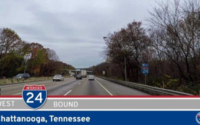 Interstate 24: Westbound in Chattanooga