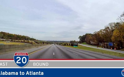 Interstate 20: Alabama to Atlanta