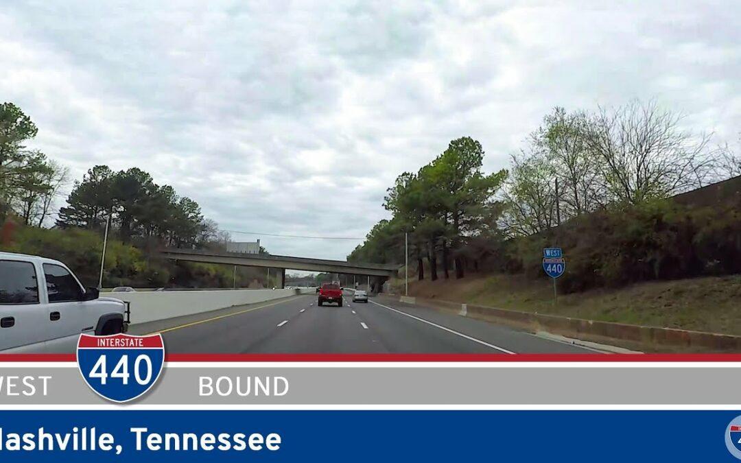 Interstate 440 Westbound: Nashville – Tennessee