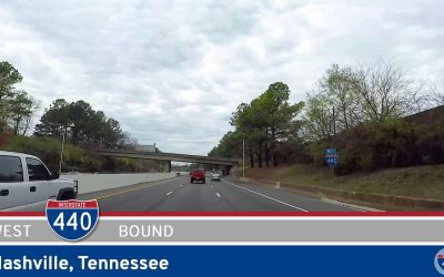 Interstate 440 Westbound: Nashville – Tennessee