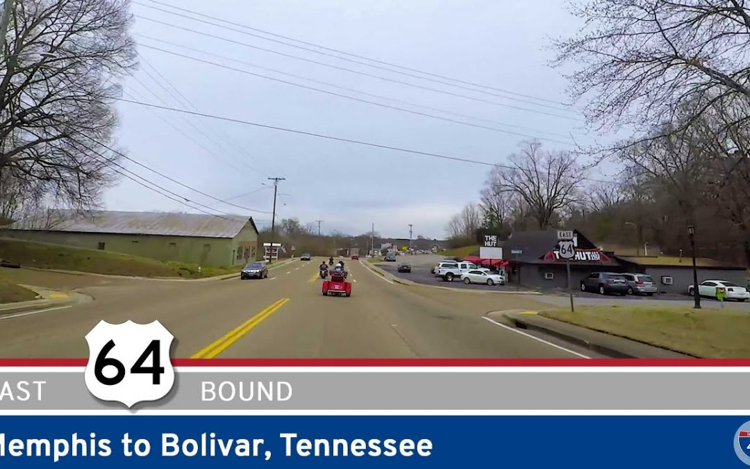 U.S. Highway 64: Memphis to Bolivar – Tennessee