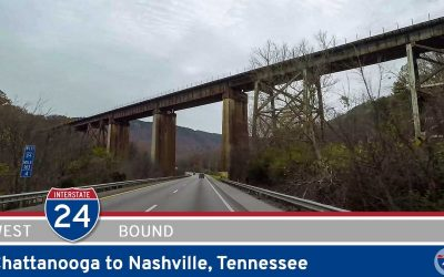 Interstate 24: Chattanooga to Nashville – Tennessee