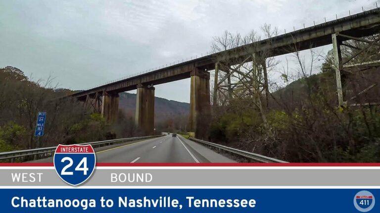 Interstate 24: Chattanooga to Nashville - Tennessee